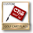 Custom Golf Cart Flags