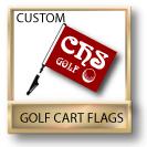 Custom Golf Cart Flags