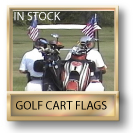 In Stock Golf Cart Flags