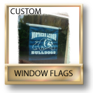 Custom Window Flags / Custom Window Suction Cup Flags