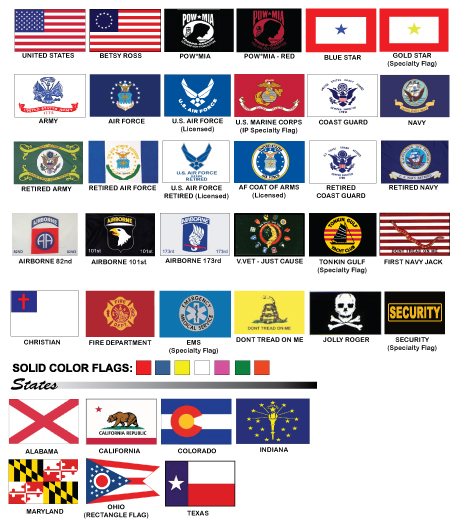 Replacement Flags